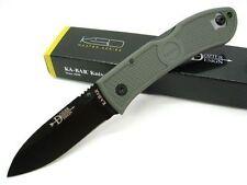 KA4062FG Couteau Kabar Dozier Foliage Green Hunter AUS-8 Blade GFN Handles