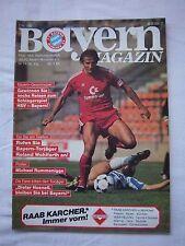 Orig.PRG   1.BL   1984/85   FC BAYERN MÜNCHEN - FORTUNA DÜSSELDORF  !!  SELTEN
