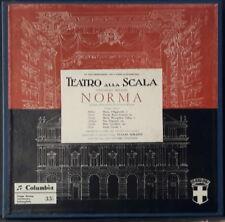 COLUMBIA 33QCX 10088 / 89 / 90 ED 1 ITALY BELLINI - NORMA MARIA CALLAS SERAFIN