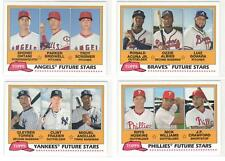 FUTURE STARS 2018 Topps Archives Complete Insert Set 30 RC Acuna Ohtani Hoskins+