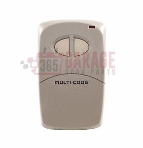 Multi-Code 4120 MCS412001 2-channel Visor Gate & Garage Door Transmitter by Line