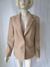 Button Woolen Waist Length Formal Coats & Jackets for Women