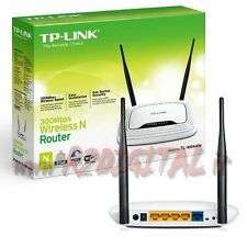 ACCESS POINT TP-LINK TL-WR841N WIRELESS N ROUTER 300M LAN WIFI RANGE EXTENDER HD