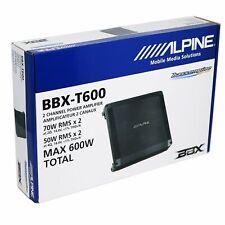 Alpine 600 Watts 2-Channel BBX-T600 BBX Series Bass EQ Class A/B Amplifier