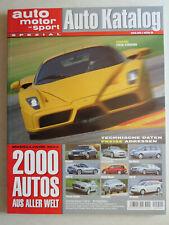 Auto Katalog Modelljahr 2003 Nr. 46 - Vereinigte Motor-Verlage GmbH, 322 Seiten