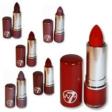 W7 MakeUp Make Up - Fashion Lipstick Reds Colours Shades Cosmetics - Set of Six