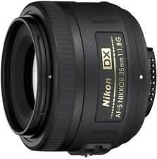 Nikon 35mm f/1.8G AF-S DX NIKKOR Lens for Nikon Digital SLR Cameras - New Sealed