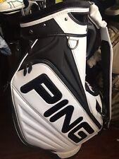 Brand New 2019 Ping PGA Tour Staff Bag White/Black Ping Alejandro Canizares ASU