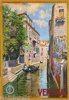 Venezia Venice Italy Vintage European Travel Advertisement Poster Picture Print