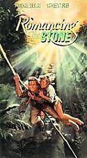 Romancing the Stone VHS 1984 Michael Douglas Kathleen Turner Danny De Vito PG