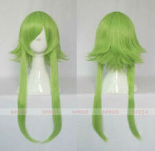 New VOCALOID Gumi Cosplay 50CM Long Green Wig + Free wig cap
