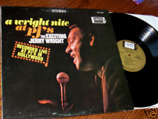 JERRY WRIGHT Nite Night at PJ's LIVE Colpix LP Lou Adler NM