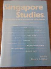SINGAPORE STUDIES Rare Book 1987 Scholarly look at National life by University
