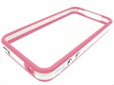 Dos Colores Bumper Funda Para Apple Iphone 4 Pink/white