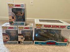 Funko Pop! Jaws - Chief Brody, Matt Hooper & Quint + Jaws Movie Moments