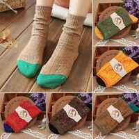 Unisex Casual Cotton Socks Design Multi-Color Fashion Dress Mens Women's Socks