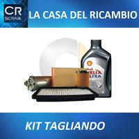 KIT TAGLIANDO 4 LT OLIO 5W40+ 3 FILTRI FIAT IDEA 1.4 16V dal 2004