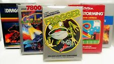 5 Box Protectors ATARI 2600 / 5200 / 7800 Video Games  ColecoVision Display Case