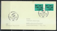 Germany 1971 FDC cover Mi 664 Sc 1054 Synthetic textile fiber research.Bonn