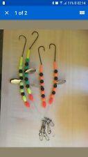4x bass.turbot.plaice traces.rigs.hooks.tackle.pike.seafishing.hooks
