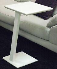 Square total white Tavolino servetto basso moderno design salotto divano