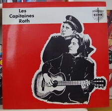 LES CAPITAINES ROTH RELIGIOUS FOLK  FRENCH LP DISQUES CIDE