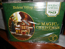 DEPT 56 DICKENS' VILLAGE THE MAGIC OF CHRISTMAS NIB *Still Sealed*