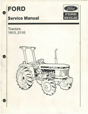Ford Tractor Models 1910 Amp 2110 Service Manual Se4370 D1584
