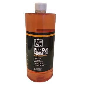 Car Cherry PTFE Shampoo Wash & Carnauba Wax 1Ltr Streak Free Finish Concentrated