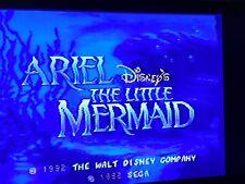 Sega Genesis - Ariel The Little Mermaid - Tested