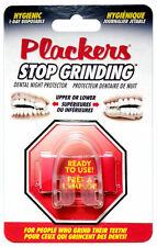 PLACKERS* Dental Night Protector STOP GRINDING Hygienic Guard UPPER/LOWER TEETH