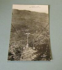 Vintage Chair Lift Mt. Mansfield Vermont Richardson RPPC Real Photo Postcard