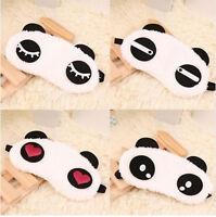 Masque de nuit - masque de sommeil pour les yeux - mignon panda en coton