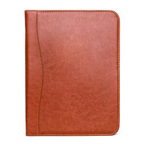 Conference Folder A4 Clipboard  Leather Portfolio Document Organiser