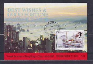 BAT, British Antarctic Territory 1997 Hong Kong, Ships used