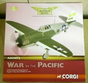 Corgi AA33812 P-47D Thunderbolt Daring Dottie III J.T. More  Ltd Ed 0001 of 2200