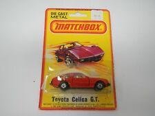 Matchbox Toyota Celica G.T. Red