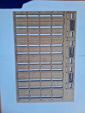 28MM Fences & Gates Laser Cut 2mm MDF Kit Fair Price Models 5.75ft Scale Feet