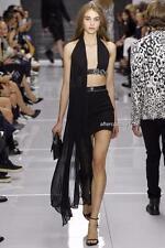 Versace Versus black Cutout Dress Uk10 IT42 RRP1100GBP Auth US4 New