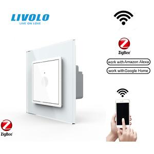LIVOLO Smart Wifi Wechselschalter Google Home Touch Lichtschalter