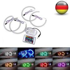 4x RGB LED Angel Eyes Ringe Standlicht Scheinwerfer Für BMW M3 E36 E38 E39 E46