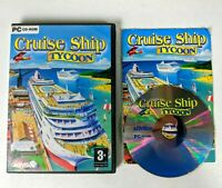 Cruise Ship Tycoon PC CD Rom Video Game