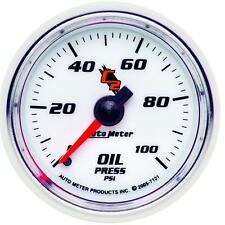 UNIVERSIAL DODGE FORD CHEVY AUTO METER C2 SERIES OIL PRESSURE GAUGE 7121..