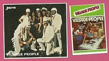 Village People FAB Card Collection American disco group on stage costumes