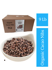 Greenfields Superfoods Organic Cacao Nibs BULK 9 Lb, WHOLESALE