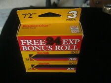 Lot 3 Packages Kodak 110 Kodacolor Gold 200 Film 10/1997 72 Exposures NOS