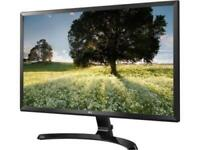 "LG 27MU58-B Black 27"" IPS (GTG) 5ms LCD 3840 x 2160, UHD 4K FreeSync Monitor"