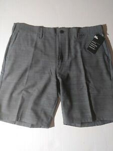"Size 36 NWT Hurley Men's Dri-Fit Cutback 19"" WalkShorts AJ2736 021"