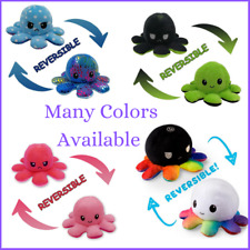 Kids Flip Octopus Reversible Plush Mood Plush Toy Stuffed Toys Gift Baby Cute