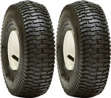 2 - 15x6.00-6 4Ply Lawn Mower Turf Tires Transmaster S365